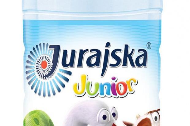 Jurajska wprowadza na rynek wodę Junior ABC