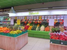 Ruszył pierwszy Zieleniak, w sieci MarcPol, z ofertą świeżych owoców i warzyw