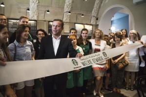 Zdjęcie numer 2 - galeria:  Starbucks otworzył 40. kawiarnię w Polsce - fotogaleria