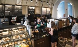 Zdjęcie numer 6 - galeria:  Starbucks otworzył 40. kawiarnię w Polsce - fotogaleria