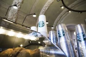 Starbucks otworzył 40. kawiarnię w Polsce - fotogaleria