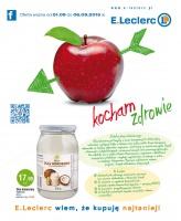 E.Leclerc rozwija działy ze zdrową żywnością