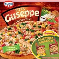 Dr. Oetker wprowadza nowe smaki pizzy Guseppe