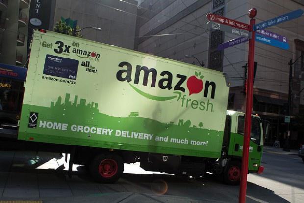 Amazon testuje dostawy produktów lokalnych od rolników