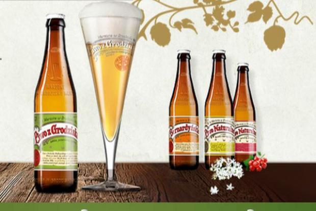 Browar z Grodziska wprowadził do sklepów i pubów limitowaną edycję Piwa z Grodziska
