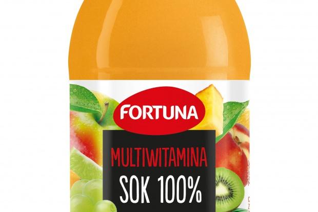 Soki Fortuna dostępne w szklanych butelkach 0,3l