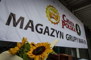 Zdjęcie numer 2 - galeria: Grupa Mar-Ol ukończyła rozbudowę magazynu centralnego - fotogaleria