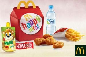 Maspex dostarcza produkty dla dzieci do sieci McDonald's