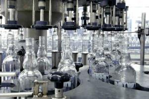Produkcja wódki wzrosła w ciągu ośmiu miesięcy