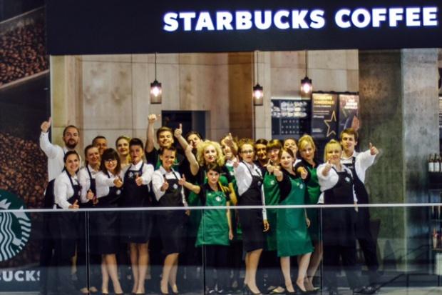 Starbucks otworzył pierwszą kawiarnię w Łodzi