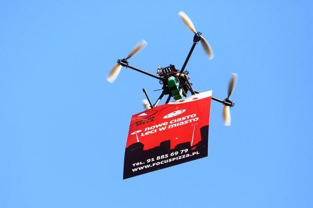 Focus Pizza – nowy koncept pizzerii dostarczających posiłki za pomocą dronów