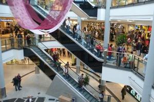 Spadek ruchu w galeriach handlowych