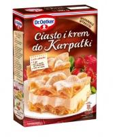 Ciasto i krem do karpatki - nowość od Dr. Oetkera