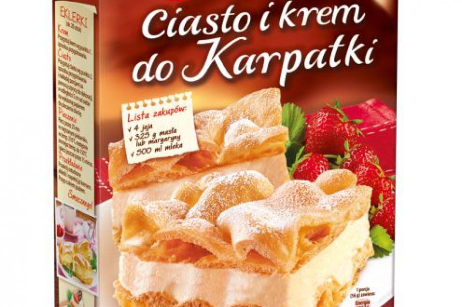 Ciasto I Krem Do Karpatki Nowosc Od Dr Oetkera Slodycze Przekaski