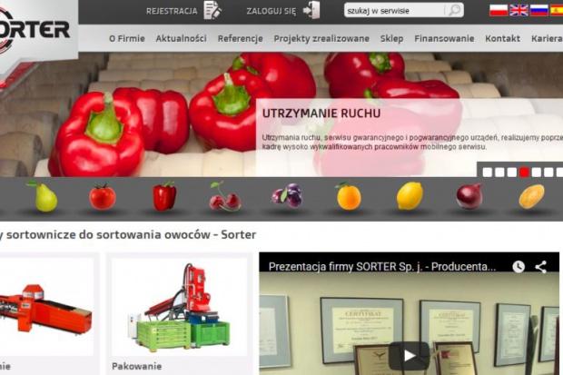 Polacy stworzyli maszyny sortujące owoce i warzywa nowej generacji