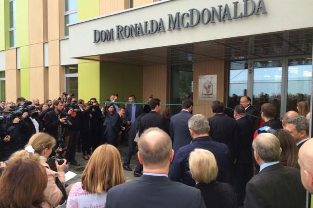 W Krakowie otwarto Dom Fundacji Ronalda McDonalda