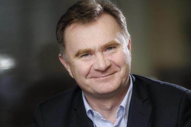 Krzysztof Pawiński, prezes Grupy Maspex z wystąpieniem podczas VIII Forum Rynku Spożywczego i Handlu