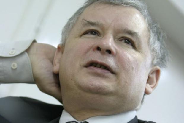 Kaczyński mówi