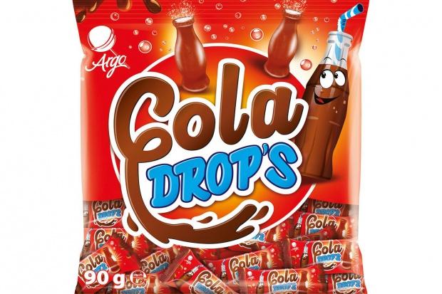 Cukierki w kształcie butelki od Argo