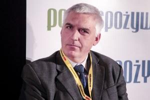Andrzej Bonk, dyrektor SSI Schäfer prelegentem VIII Forum Rynku Spożywczego i Handlu