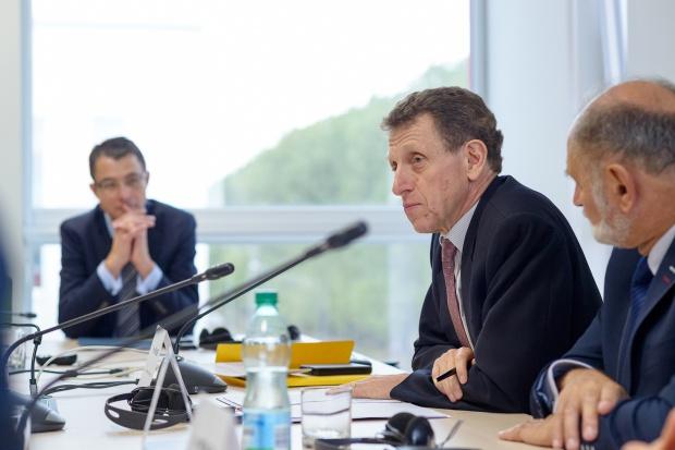 Ambasador Francji odwiedził siedzibę Grupy Muszkieterów