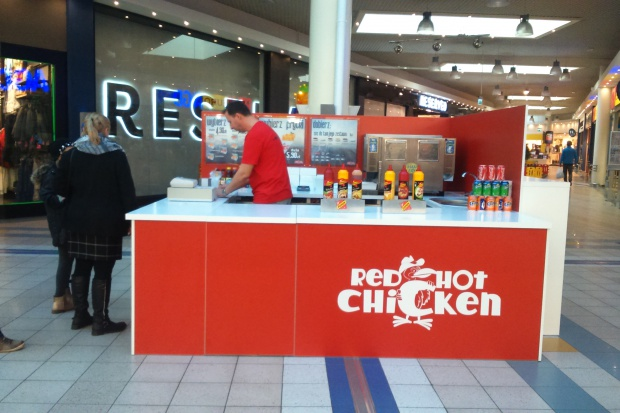 Red Hot Chicken, czyli nowy koncept sprzedaży kawałków kurczaka