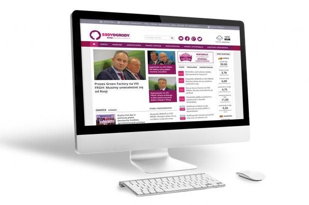 Rekordowa liczba użytkowników portalu www.sadyogrody.pl
