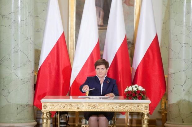 Beata Szydło w expose mówiła o rozwoju polskiej