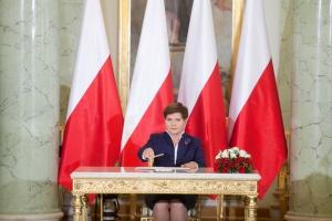 Beata Szydło z wotum zaufania