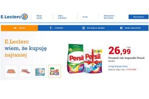 E.Leclerc odświeżył stronę internetową e-sklepu