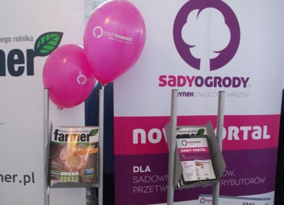 Serwis SadyOgrody.pl na targach Hort-Technika