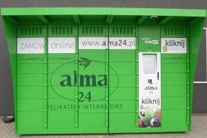 Alma ubiegła InPost - uruchomiła pierwsze Coolomaty w Polsce