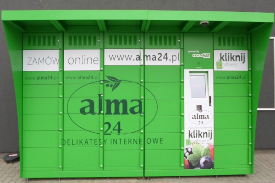 e138629abde508 Alma ubiegła InPost - uruchomiła pierwsze Coolomaty w Polsce - Handel  dystrybucja
