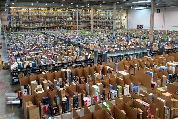 Pracownicy Amazona w Polsce domagają się poprawy warunków pracy