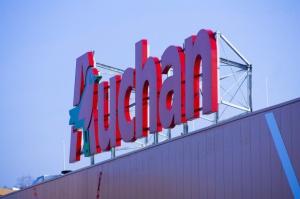 Szyld Auchan zawiśnie przy Lotnisku Chopina