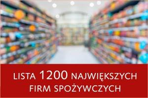 Lista 1200 największych firm spożywczych - edycja 2015