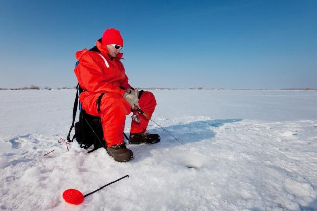 Na Zalewie Wiślanym możliwe połowy pod lodem
