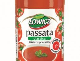 Passata Łowicz - nowość w pomidorowej ofercie marki