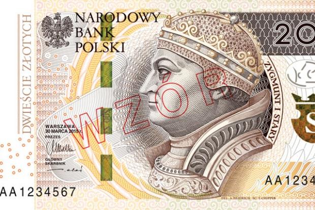 NBP wprowadza nowe banknoty 200 zł