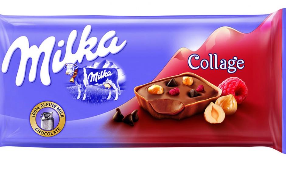 Milka wprowadza na rynek czekolady Collage