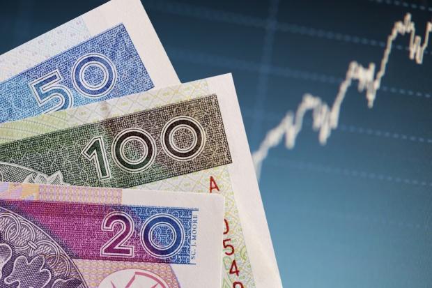 Lekki spadek wyceny złotego wobec dolara