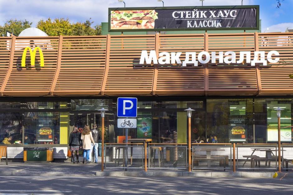 McDonald's w Rosji całkowicie zrezygnuje z importu surowców żywnościowych