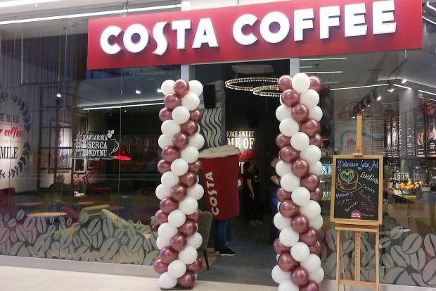Costa Coffee z lokalem na wrocławskich Bielanach