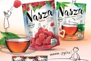 Herbapol wprowadza nową markę herbaty - Nasza