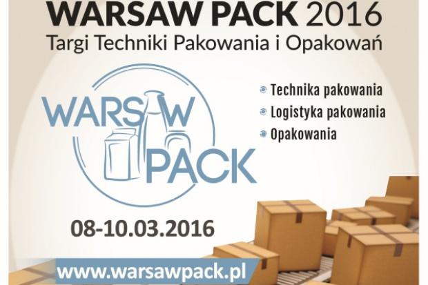 Zapraszamy na Targi Warsaw Pack. Nowości w branży maszyn pakujących i opakowań