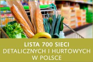 Lista 700 sieci detalicznych i hurtowych w Polsce - edycja 2016