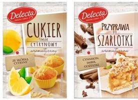 Delecta rozbudowuje ofertę przypraw do ciast i deserów
