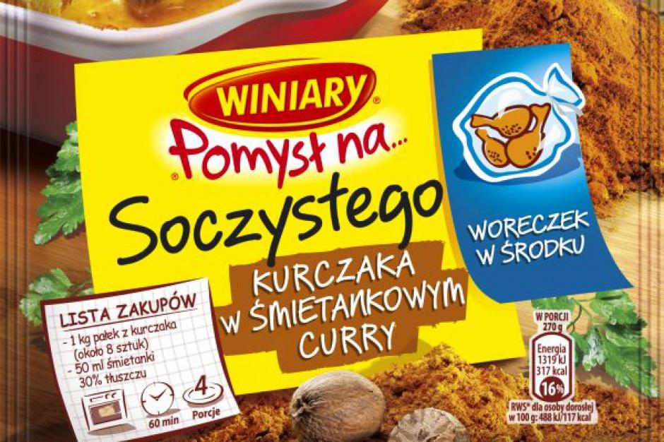 Nowość Winiary Pomysł Na… soczystego kurczaka w śmietankowym curry