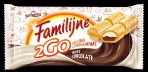 Familijne 2GO – nowe wafle indywidualnie pakowane