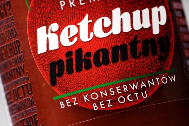 Ketchup Kotlin w nowym opakowaniu oraz bez octu i konserwantów
